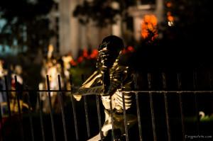 State Street / St Charles Skeleton House
